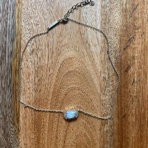 Kendra Scott Pendant Necklace w/ Iridescent Stone